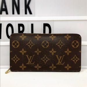 Louis Vuitton Zippy Monogram Long zip up Wallet